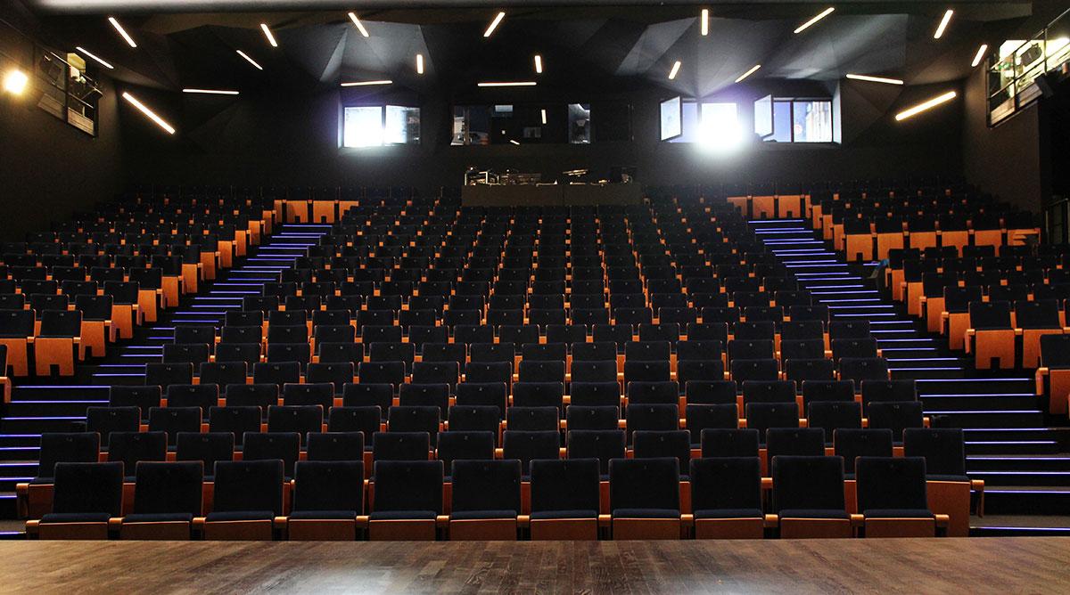 Cinéma - Théâtre Paul Eluard (TPE) de Bezons / Les Ecrans Eluard