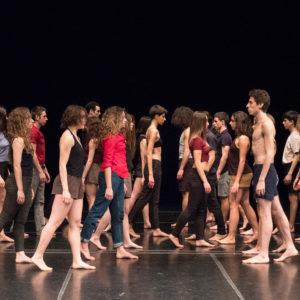 Image - Tragédie Extended, Danzatori della Civica Scuola di Teatro Paolo Grassi in Milano, Courtesy Marina Alessi